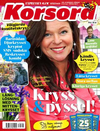 Korsord 2017-05-08
