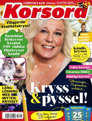 Korsord 2017-06-26