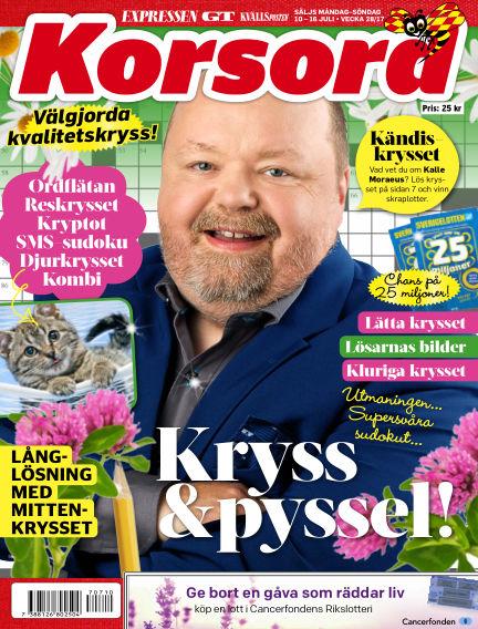 Korsord July 10, 2017 00:00