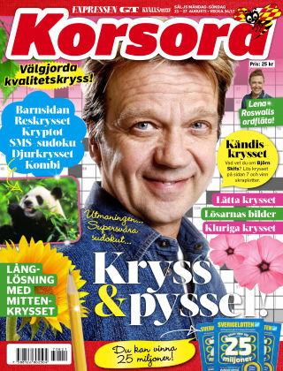 Korsord 2017-08-21
