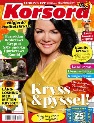 Korsord 2017-10-02