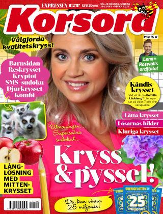 Korsord 2017-10-16