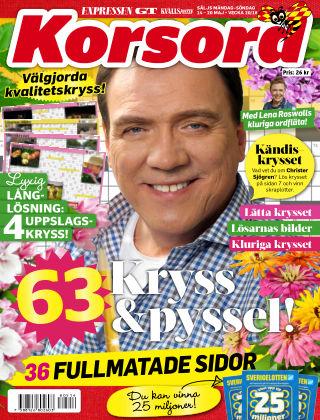 Korsord 2018-05-14