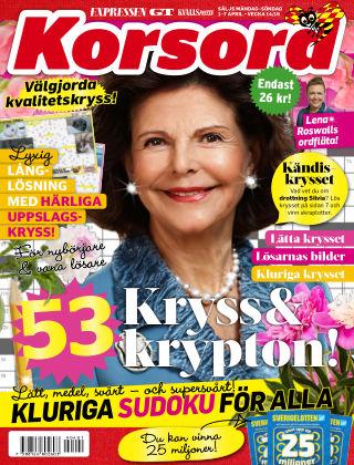 Korsord 2019-04-01