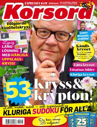 Korsord 2019-05-13