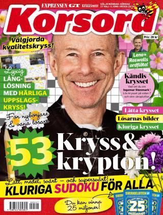 Korsord 2019-05-27