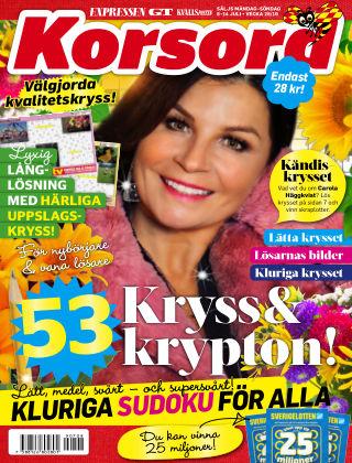 Korsord 2019-07-08