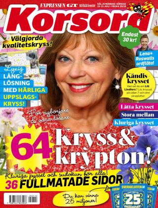 Korsord 2019-07-15