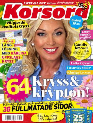 Korsord 2019-08-05