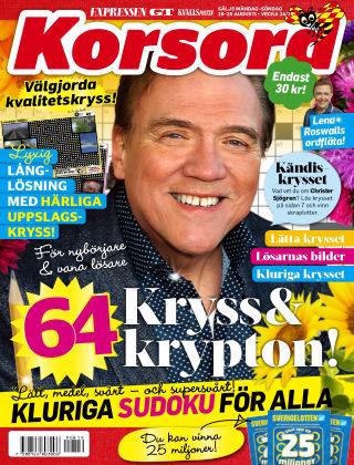 Korsord 2019-08-19
