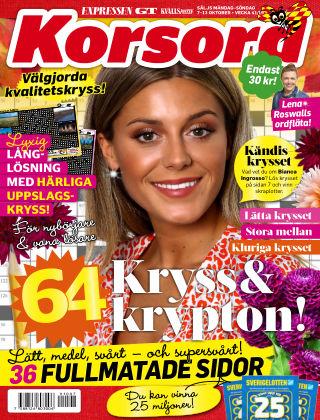Korsord 2019-10-07