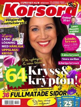 Korsord 2019-11-04