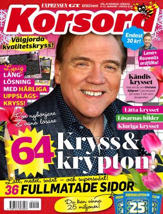 Korsord 2020-01-06