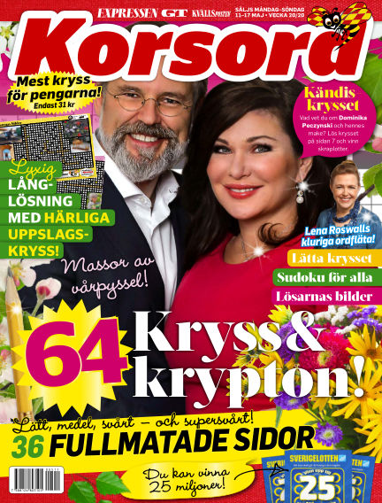 Korsord May 11, 2020 00:00