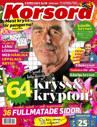 Korsord 2020-09-07
