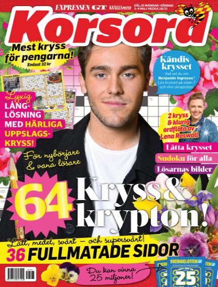 Korsord May 03, 2021 00:00