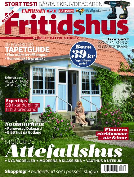 Allt om Fritidshus (Inga nya utgåvor) February 26, 2016 00:00