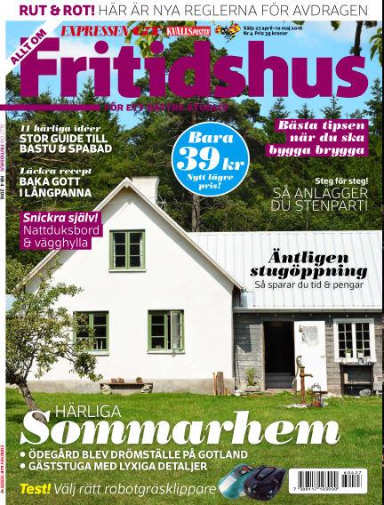 Allt om Fritidshus (Inga nya utgåvor) April 27, 2016 00:00