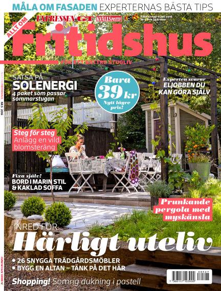 Allt om Fritidshus (Inga nya utgåvor) May 27, 2016 00:00