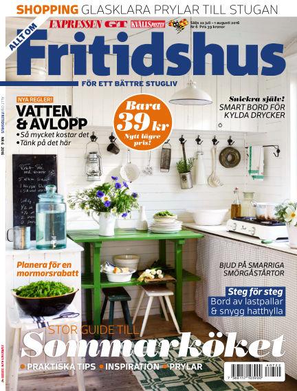 Allt om Fritidshus (Inga nya utgåvor) July 22, 2016 00:00
