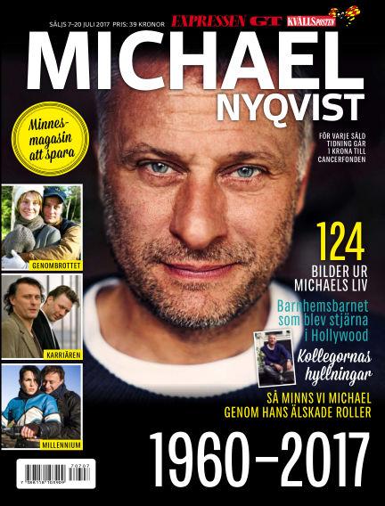 Michael Nyqvist Minnesmagasin