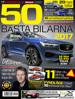 50 Bästa bilarna 2017-09-16