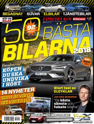 50 Bästa bilarna 2018-09-15