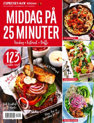 Middag på 25 minuter 2017-10-25