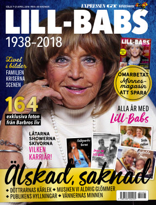 Lill-Babs 2018-04-07