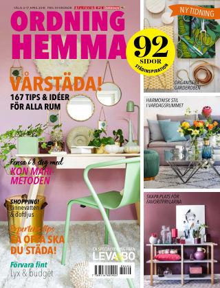 Ordning Hemma 2018-04-04
