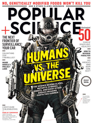 Popular Science July 2014