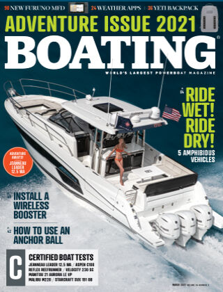 Boating March 2021