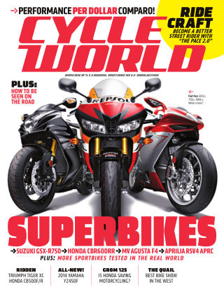 Cycle World August 2013