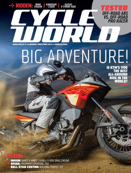 Cycle World January 25, 2014 00:00