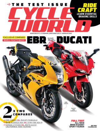 Cycle World July 2014