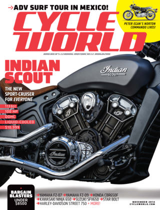Cycle World November 2014