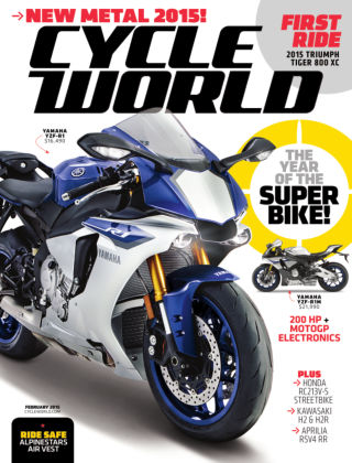 Cycle World February 2015