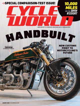 Cycle World August 2015