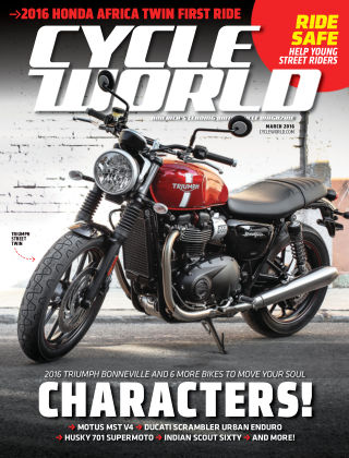 Cycle World Mar 2016