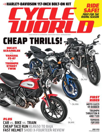 Cycle World April 30, 2016 00:00