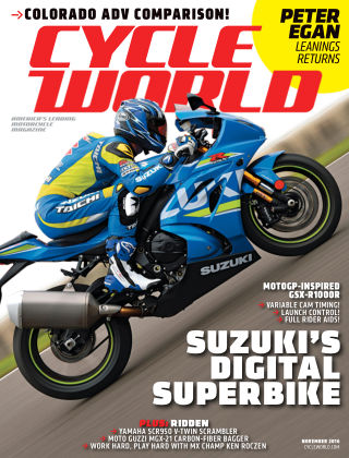 Cycle World Nov 2016