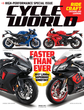Cycle World Aug 2017