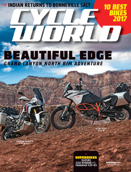 Cycle World October 07, 2017 00:00