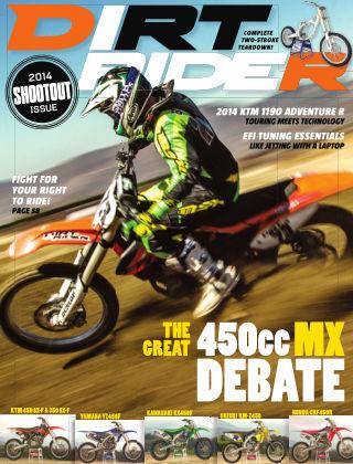 Dirt Rider February 2014
