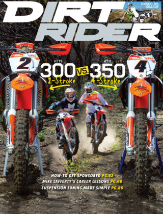 Dirt Rider August 2014