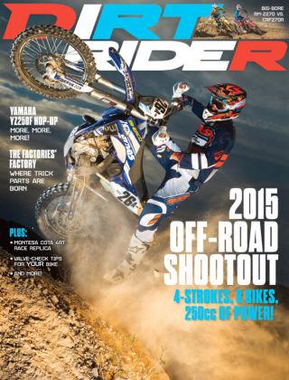 Dirt Rider July 2015