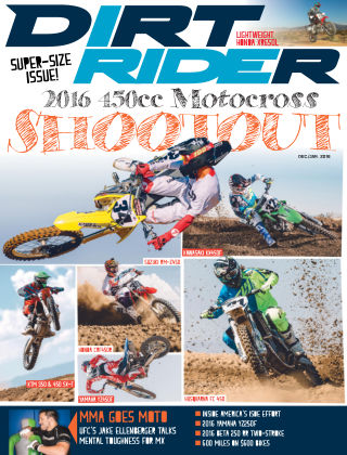 Dirt Rider Dec / Jan 2016
