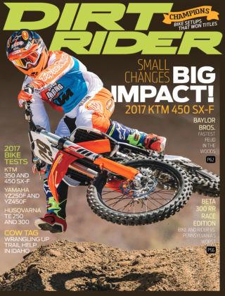 Dirt Rider Oct 2016