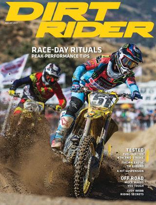 Dirt Rider Aug 2017