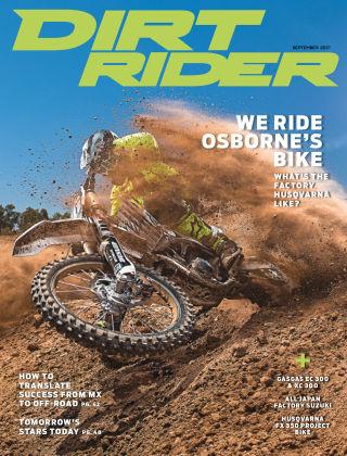 Dirt Rider Sep 2017